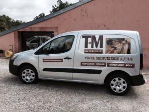 Marquage publicitaire véhicule pres de Toulouse