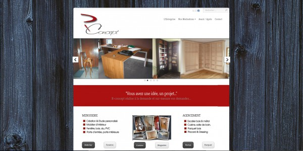Site Web pour artisan