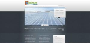 Site Internet Robot Optimus