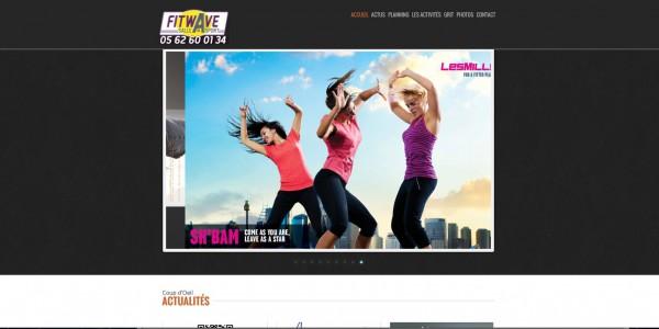 Site Internet WordPress Fitwave