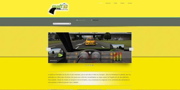 Site Internet WordPress Midi-Pyrénées-Formation-Transport
