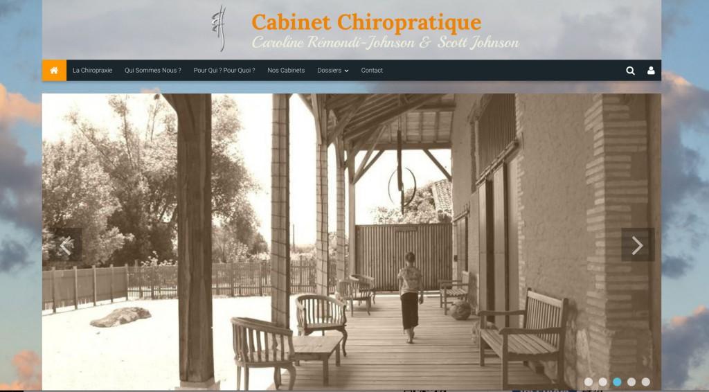 Site chiropracteur